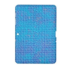 Textured Blue & Purple Abstract Samsung Galaxy Tab 2 (10 1 ) P5100 Hardshell Case  by StuffOrSomething