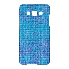 Textured Blue & Purple Abstract Samsung Galaxy A5 Hardshell Case  by StuffOrSomething