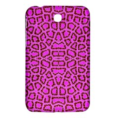 Florescent Pink Animal Print  Samsung Galaxy Tab 3 (7 ) P3200 Hardshell Case  by OCDesignss