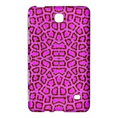 Florescent Pink Animal Print  Samsung Galaxy Tab 4 (8 ) Hardshell Case