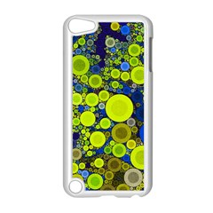 Polka Dot Retro Pattern Apple Ipod Touch 5 Case (white) by OCDesignss
