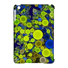 Polka Dot Retro Pattern Apple Ipad Mini Hardshell Case (compatible With Smart Cover) by OCDesignss