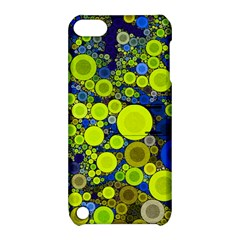 Polka Dot Retro Pattern Apple Ipod Touch 5 Hardshell Case With Stand by OCDesignss