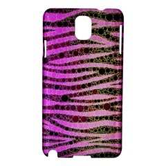 Hot Pink Black Tiger Pattern  Samsung Galaxy Note 3 N9005 Hardshell Case