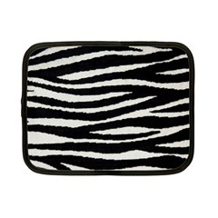 Black White Tiger  Netbook Sleeve (small) by OCDesignss