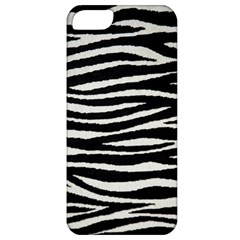 Black White Tiger  Apple Iphone 5 Classic Hardshell Case by OCDesignss