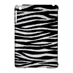 Black White Tiger  Apple Ipad Mini Hardshell Case (compatible With Smart Cover) by OCDesignss