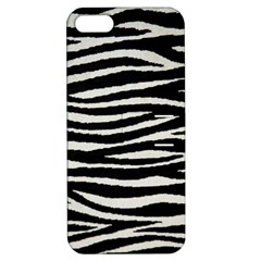 Black White Tiger  Apple Iphone 5 Hardshell Case With Stand by OCDesignss