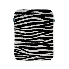 Black White Tiger  Apple Ipad Protective Sleeve by OCDesignss