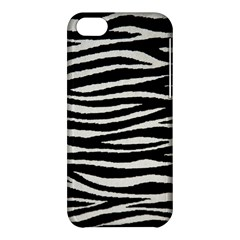 Black White Tiger  Apple Iphone 5c Hardshell Case by OCDesignss