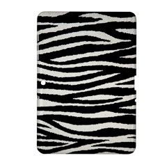 Black White Tiger  Samsung Galaxy Tab 2 (10 1 ) P5100 Hardshell Case  by OCDesignss