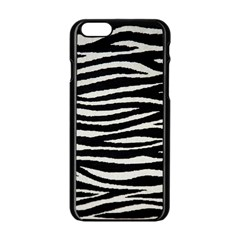 Black White Tiger  Apple Iphone 6 Black Enamel Case by OCDesignss