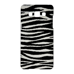Black White Tiger  Samsung Galaxy A5 Hardshell Case  by OCDesignss