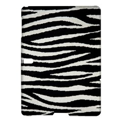 Black White Tiger  Samsung Galaxy Tab S (10 5 ) Hardshell Case  by OCDesignss