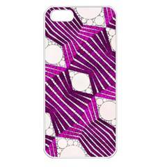 Crazy Beautiful Abstract  Apple Iphone 5 Seamless Case (white) by OCDesignss