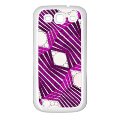 Crazy Beautiful Abstract  Samsung Galaxy S3 Back Case (white) by OCDesignss