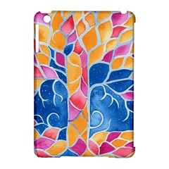 Yellow Blue Pink Abstract  Apple Ipad Mini Hardshell Case (compatible With Smart Cover) by OCDesignss