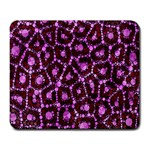 Cheetah Bling Abstract Pattern  Large Mouse Pad (Rectangle) Front