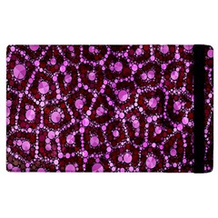 Cheetah Bling Abstract Pattern  Apple Ipad 2 Flip Case by OCDesignss