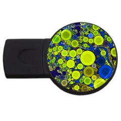 Polka Dot Retro Pattern 4gb Usb Flash Drive (round)