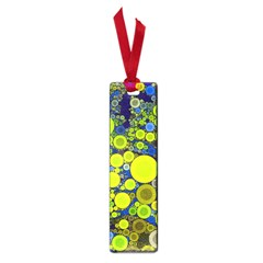 Polka Dot Retro Pattern Small Bookmark