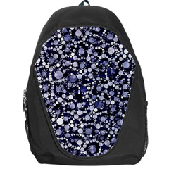 Lavender Cheetah Bling Abstract  Backpack Bag by OCDesignss