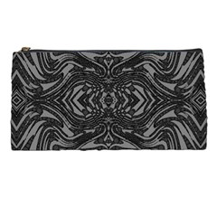 Trippy Black&white Abstract  Pencil Case by OCDesignss