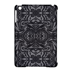 Trippy Black&white Abstract  Apple Ipad Mini Hardshell Case (compatible With Smart Cover) by OCDesignss
