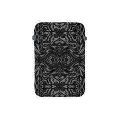 Trippy Black&white Abstract  Apple Ipad Mini Protective Sleeve by OCDesignss