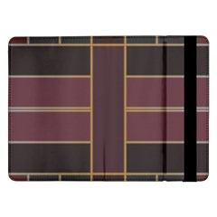 Vertical And Horizontal Rectangles	samsung Galaxy Tab Pro 12 2  Flip Case by LalyLauraFLM