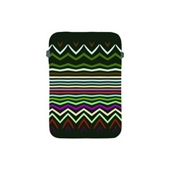 Chevrons And Distorted Stripes Apple Ipad Mini Protective Soft Case