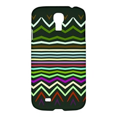 Chevrons And Distorted Stripes	samsung Galaxy S4 I9500/i9505 Hardshell Case $10 by LalyLauraFLM