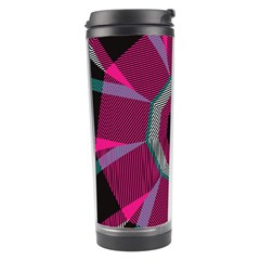 Striped Hole Travel Tumbler by LalyLauraFLM