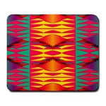 Colorful tribal texture Large Mousepad Front