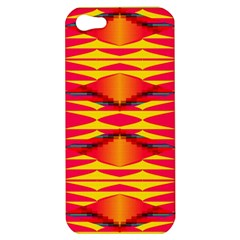 Colorful Tribal Texture Apple Iphone 5 Hardshell Case by LalyLauraFLM