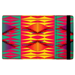 Colorful Tribal Texture Apple Ipad 3/4 Flip Case by LalyLauraFLM