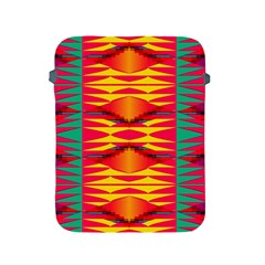 Colorful Tribal Texture Apple Ipad 2/3/4 Protective Soft Case by LalyLauraFLM
