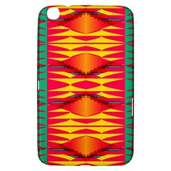 Colorful Tribal Texture Samsung Galaxy Tab 3 (8 ) T3100 Hardshell Case  by LalyLauraFLM