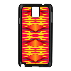 Colorful Tribal Texture Samsung Galaxy Note 3 N9005 Case (black) by LalyLauraFLM