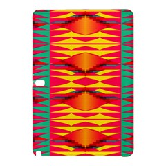 Colorful Tribal Texture	samsung Galaxy Tab Pro 12 2 Hardshell Case by LalyLauraFLM