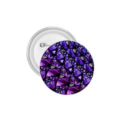 Blue Purple Glass 1 75  Button