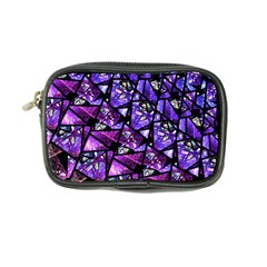 Blue Purple Glass Coin Purse by KirstenStar