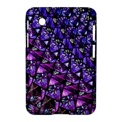 Blue Purple Glass Samsung Galaxy Tab 2 (7 ) P3100 Hardshell Case  by KirstenStar