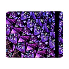 Blue Purple Glass Samsung Galaxy Tab Pro 8 4  Flip Case
