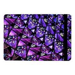 Blue Purple Glass Samsung Galaxy Tab Pro 10 1  Flip Case by KirstenStar