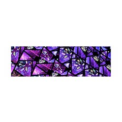 Blue Purple Glass Satin Scarf (oblong) by KirstenStar