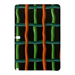 Orange Green Wiressamsung Galaxy Tab Pro 10 1 Hardshell Case by LalyLauraFLM