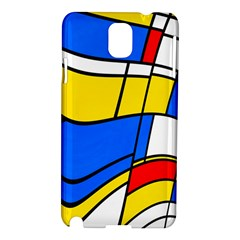 Colorful Distorted Shapes Samsung Galaxy Note 3 N9005 Hardshell Case