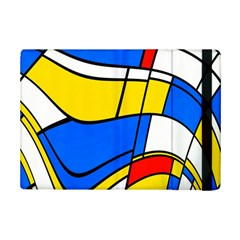 Colorful Distorted Shapes	apple Ipad Mini 2 Flip Case by LalyLauraFLM