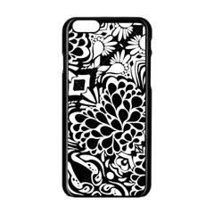 70 s Wallpaper Apple Iphone 6 Black Enamel Case